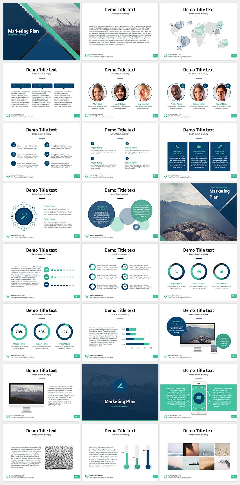 Creative Ppt Presentation Templates Free