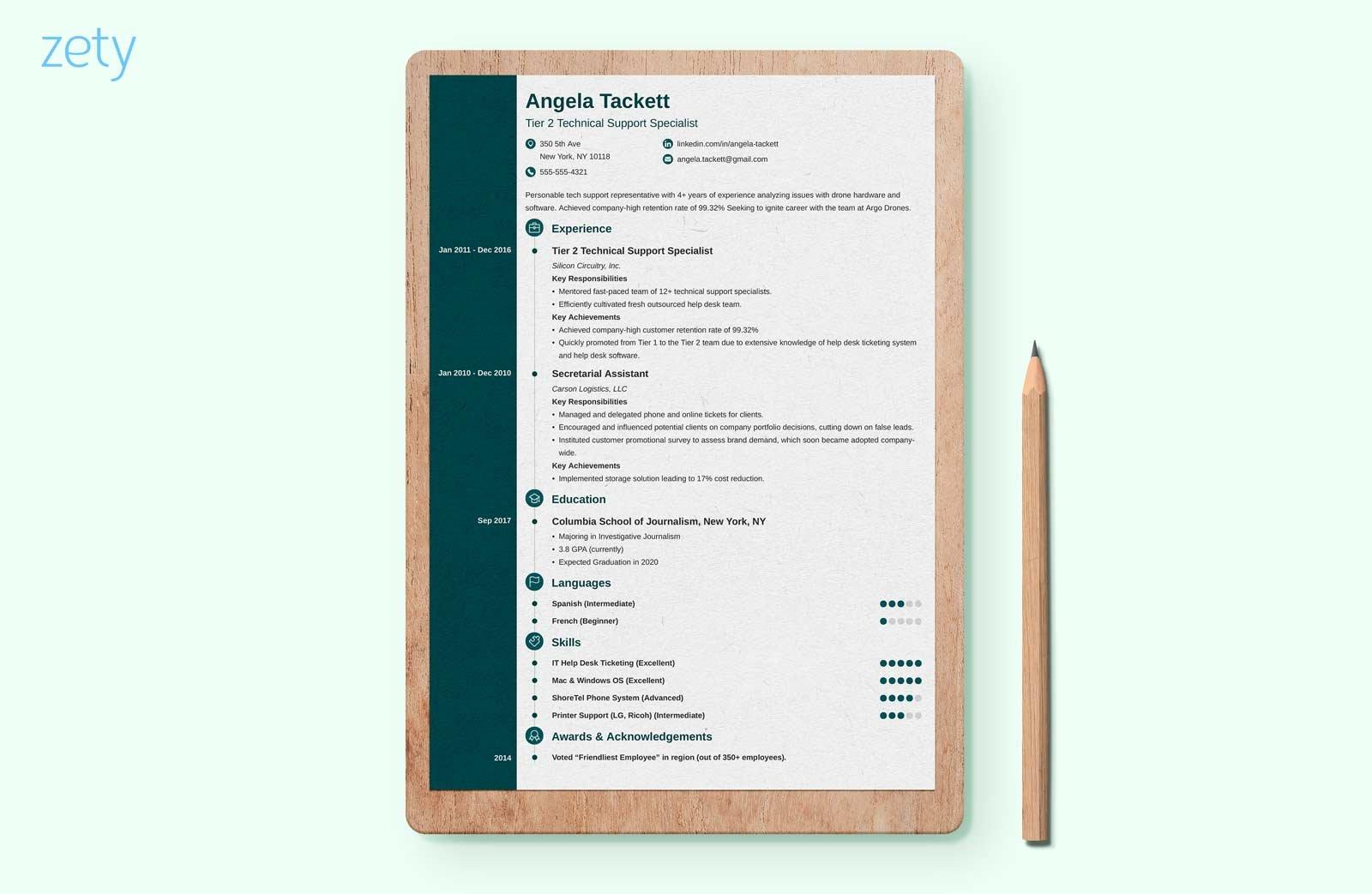 Creative Professional Resume Templates Word Free Download