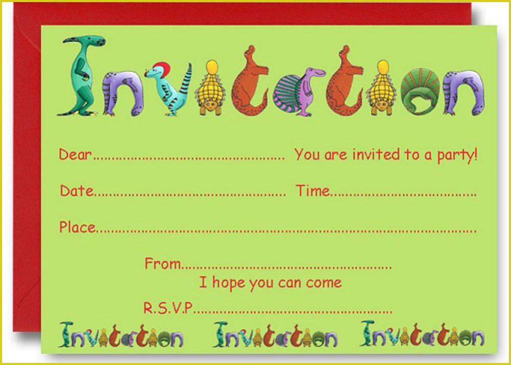 Custom Invite Template