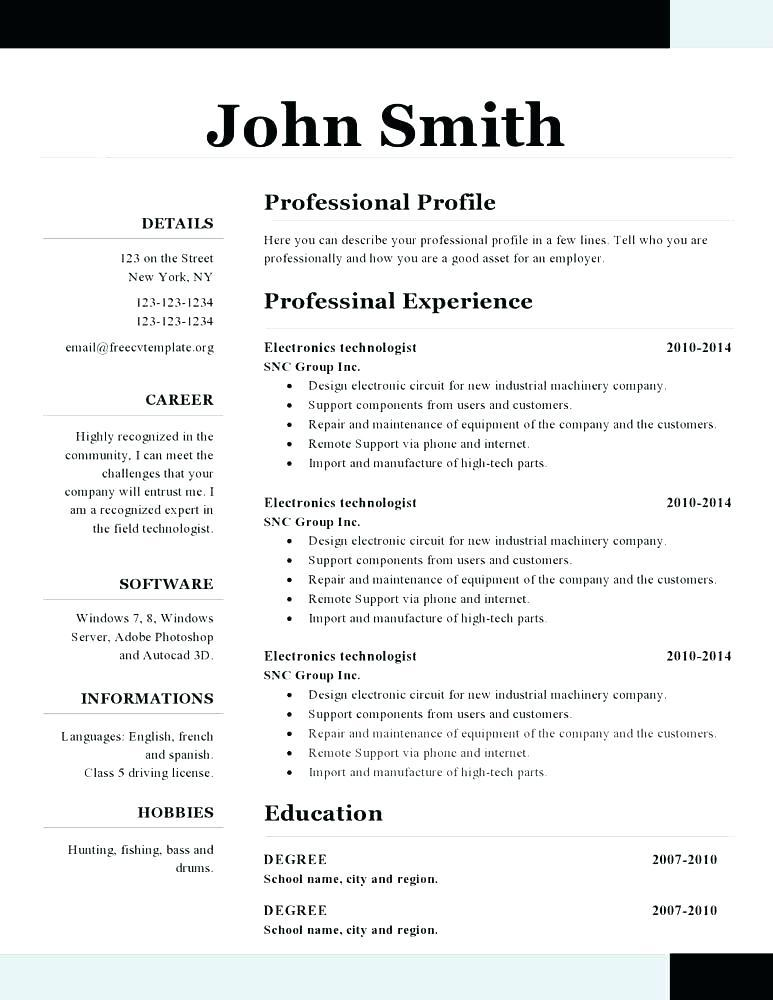Customer Service Call Center Resume Templates