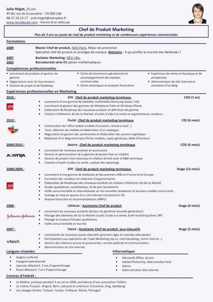 Cv Template For Commis Chef
