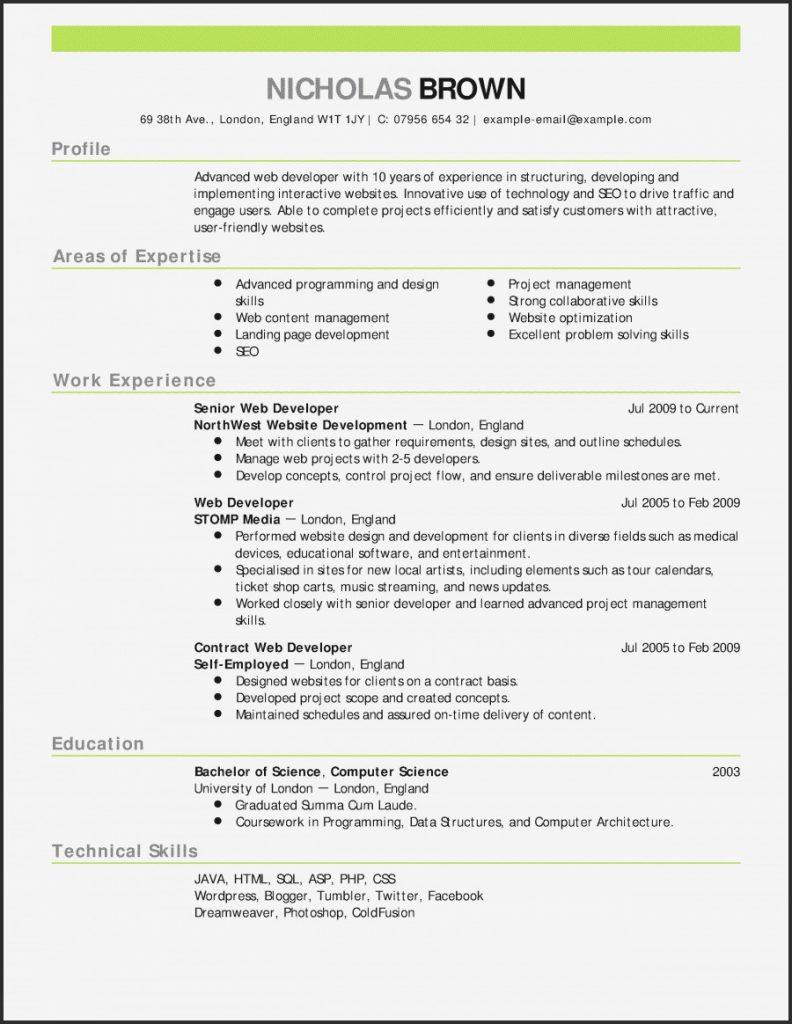 Cv Templates Free Download Word Document Australia