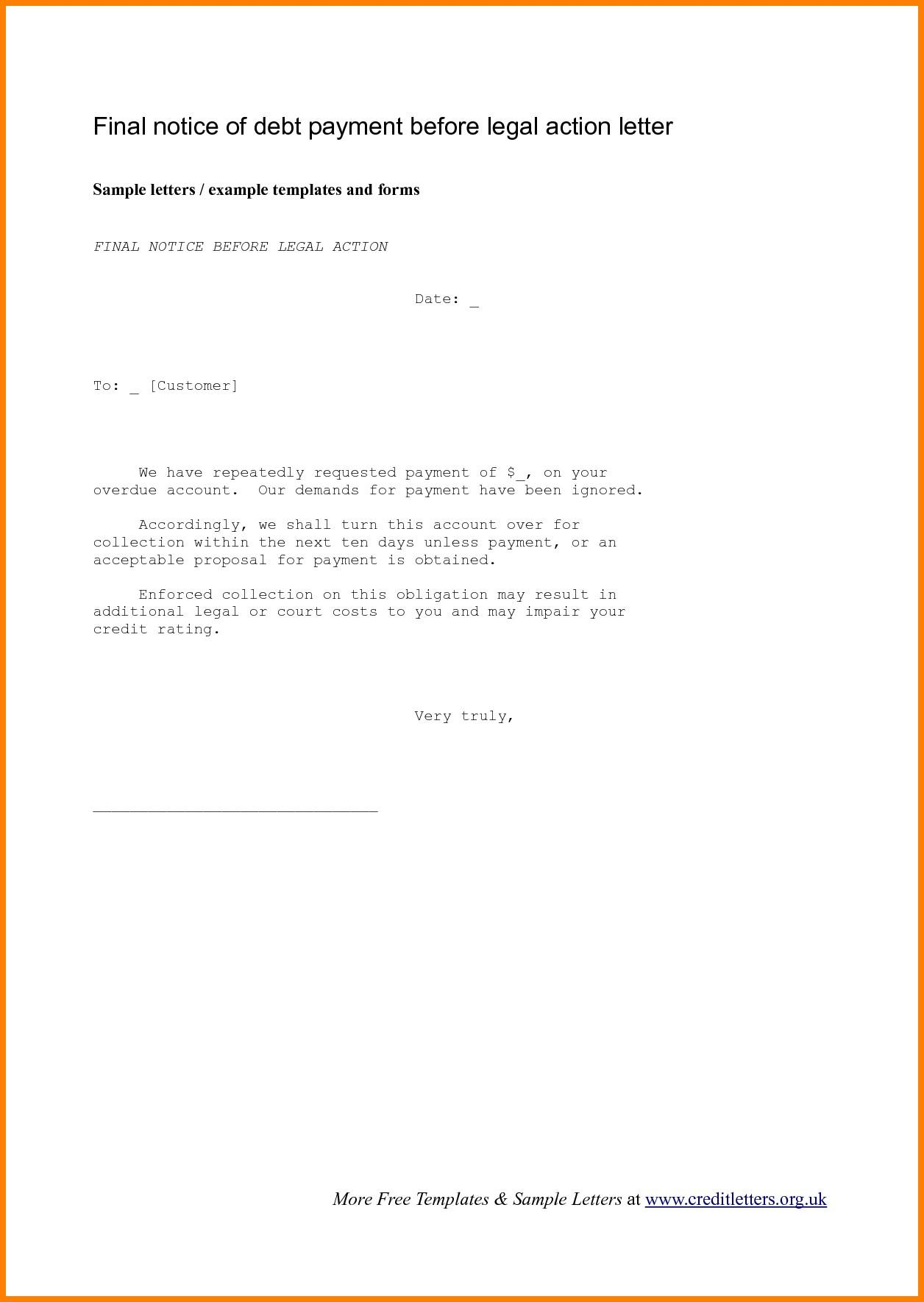 Demand Letter Template Breach Of Contract