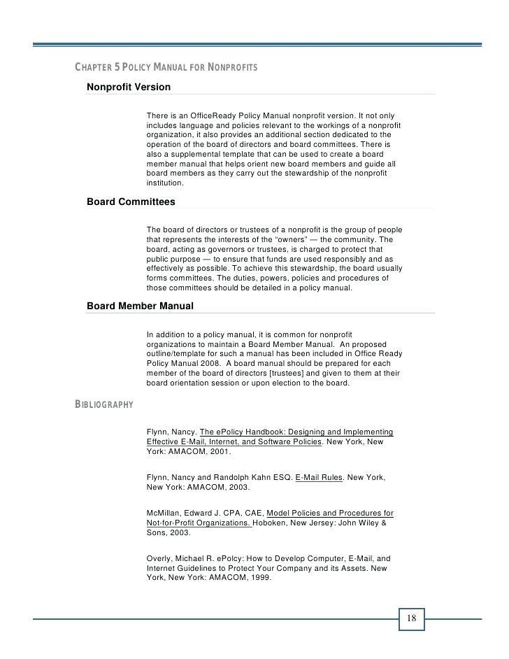Dental Office Procedure Manual Template