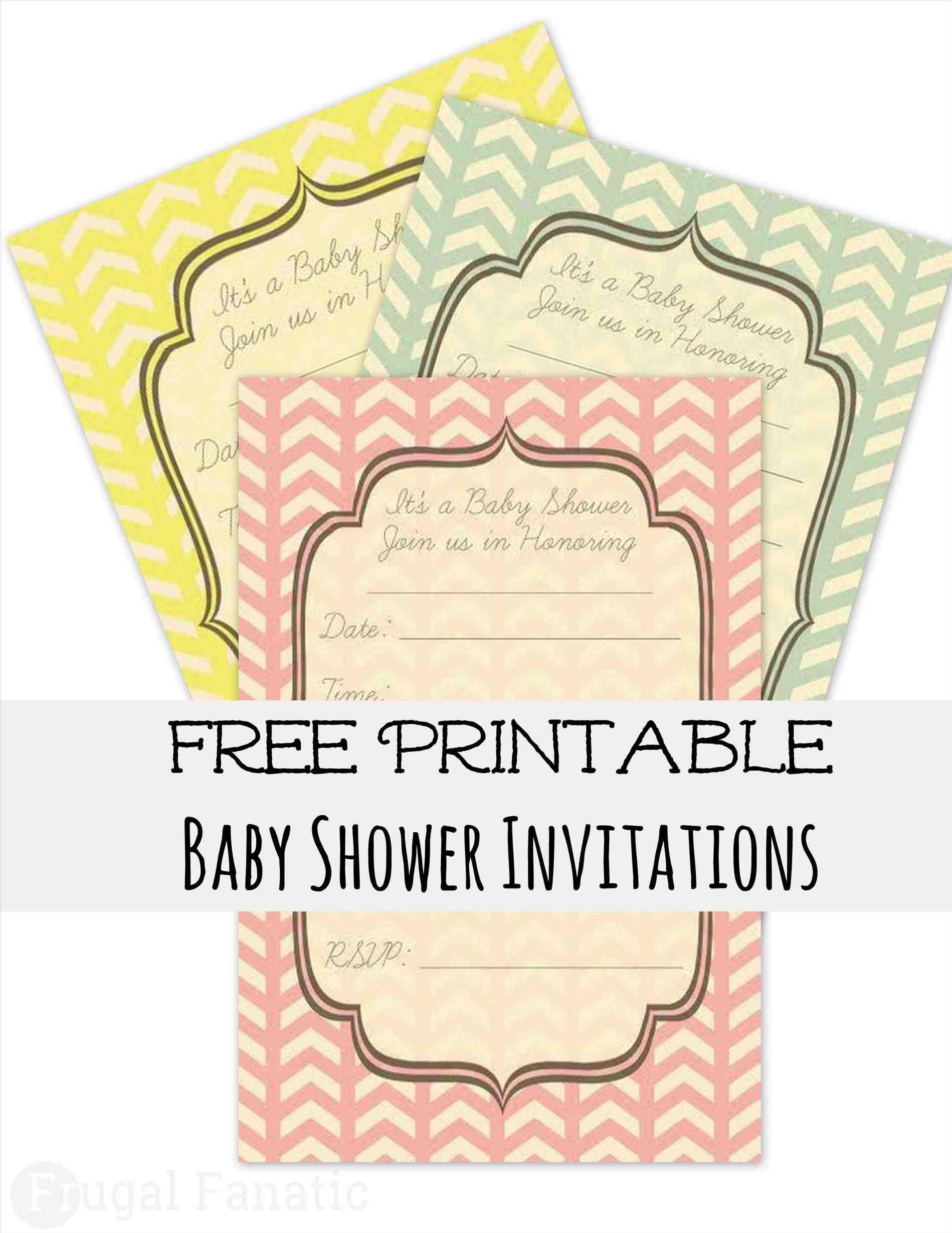 Diaper Party Invitation Template Free