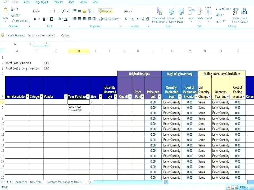 Digital Asset Inventory Template