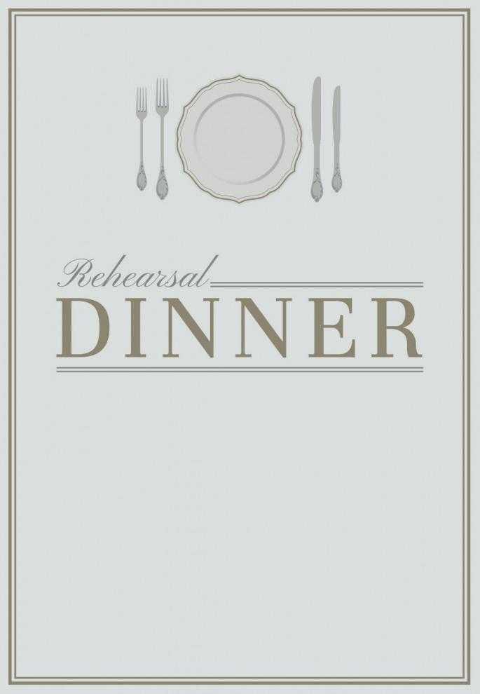 Dinner Invite Template Free