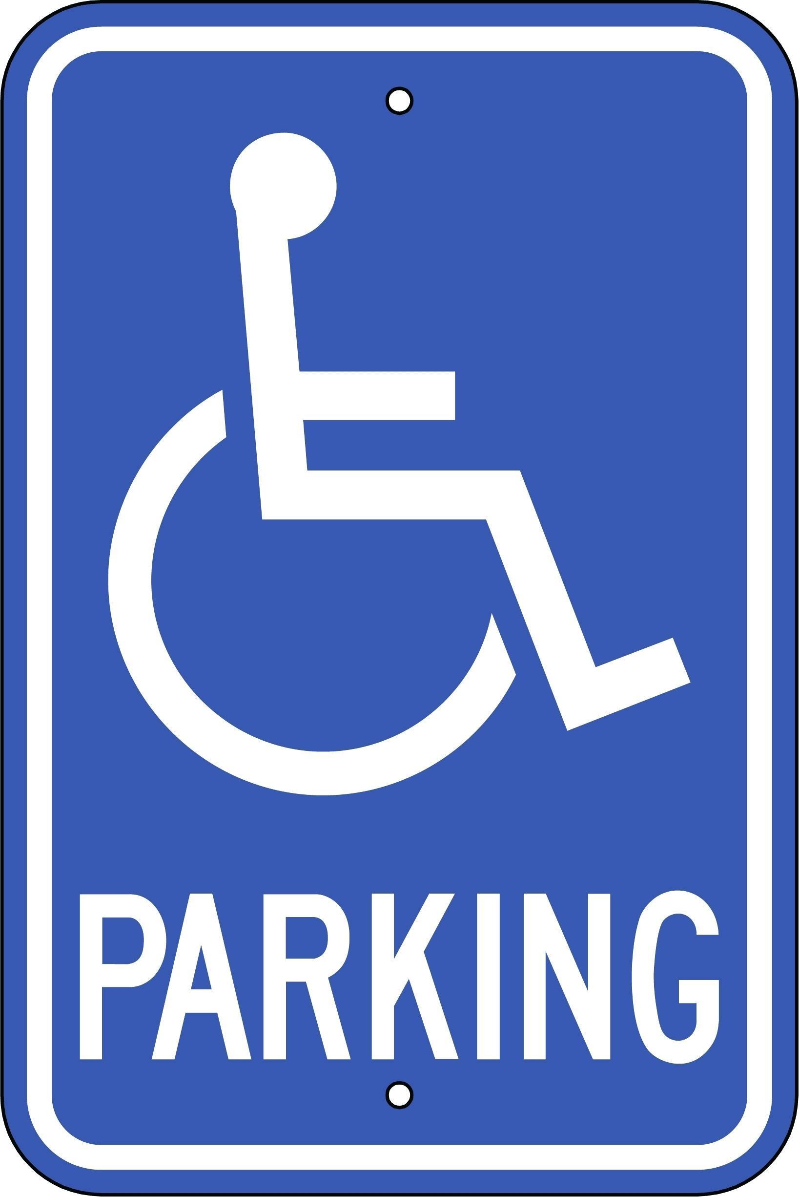 Disabled Parking Template Uk