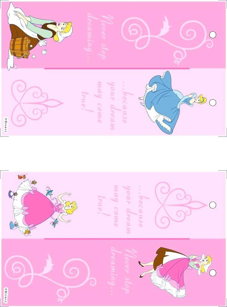 Editable Disney Princess Invitation Template