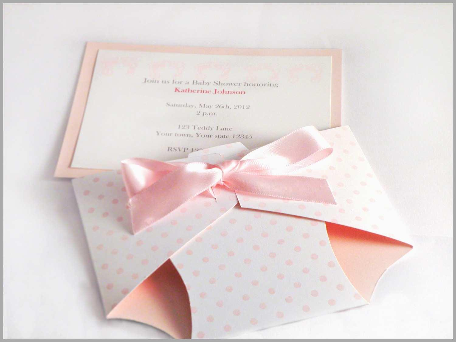 Diy Diaper Baby Shower Invitation Template