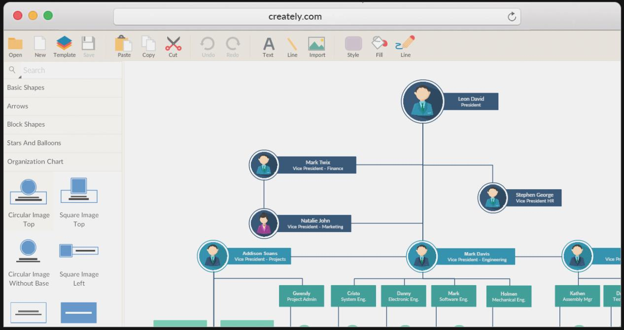 Download Organizational Chart Template Visio 2013