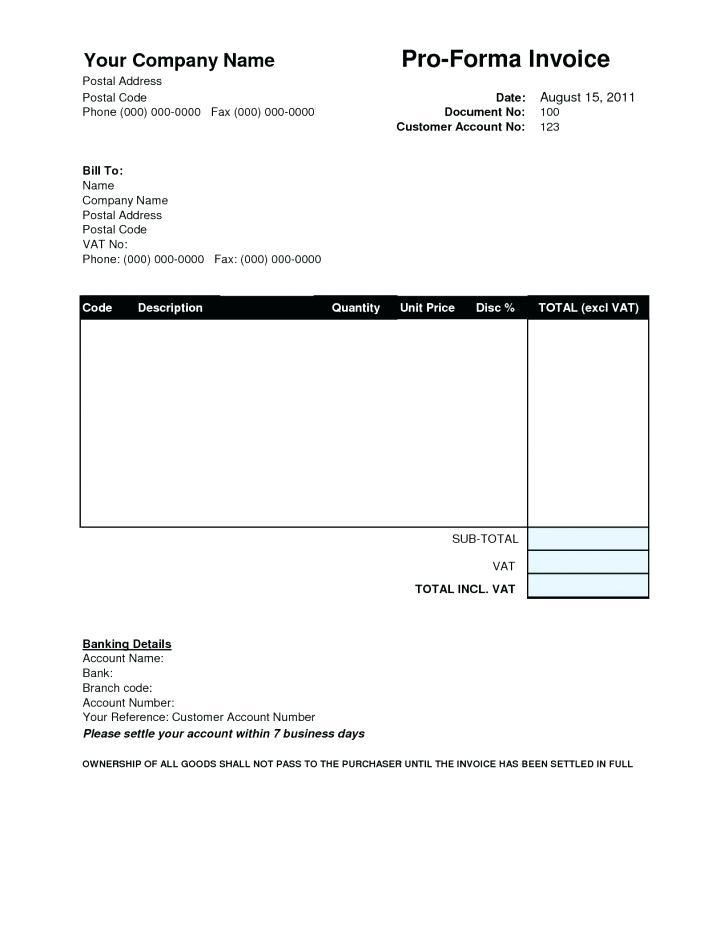 Downloadable Invoice Template For Mac