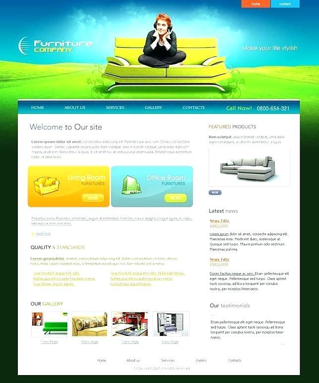 Dreamweaver Ecommerce Template