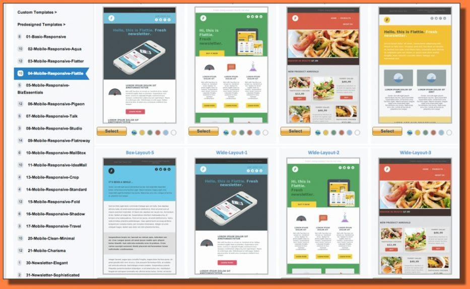 Dreamweaver Newsletter Template