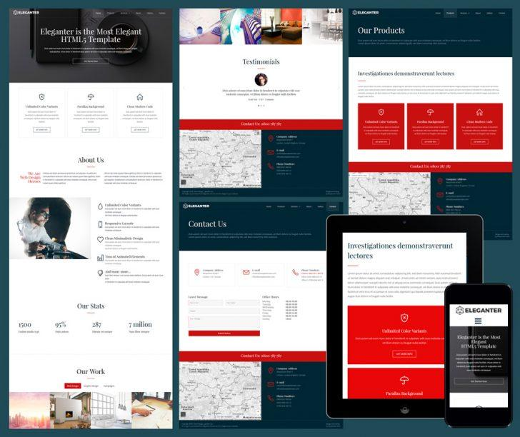 Dreamweaver Responsive Web Templates