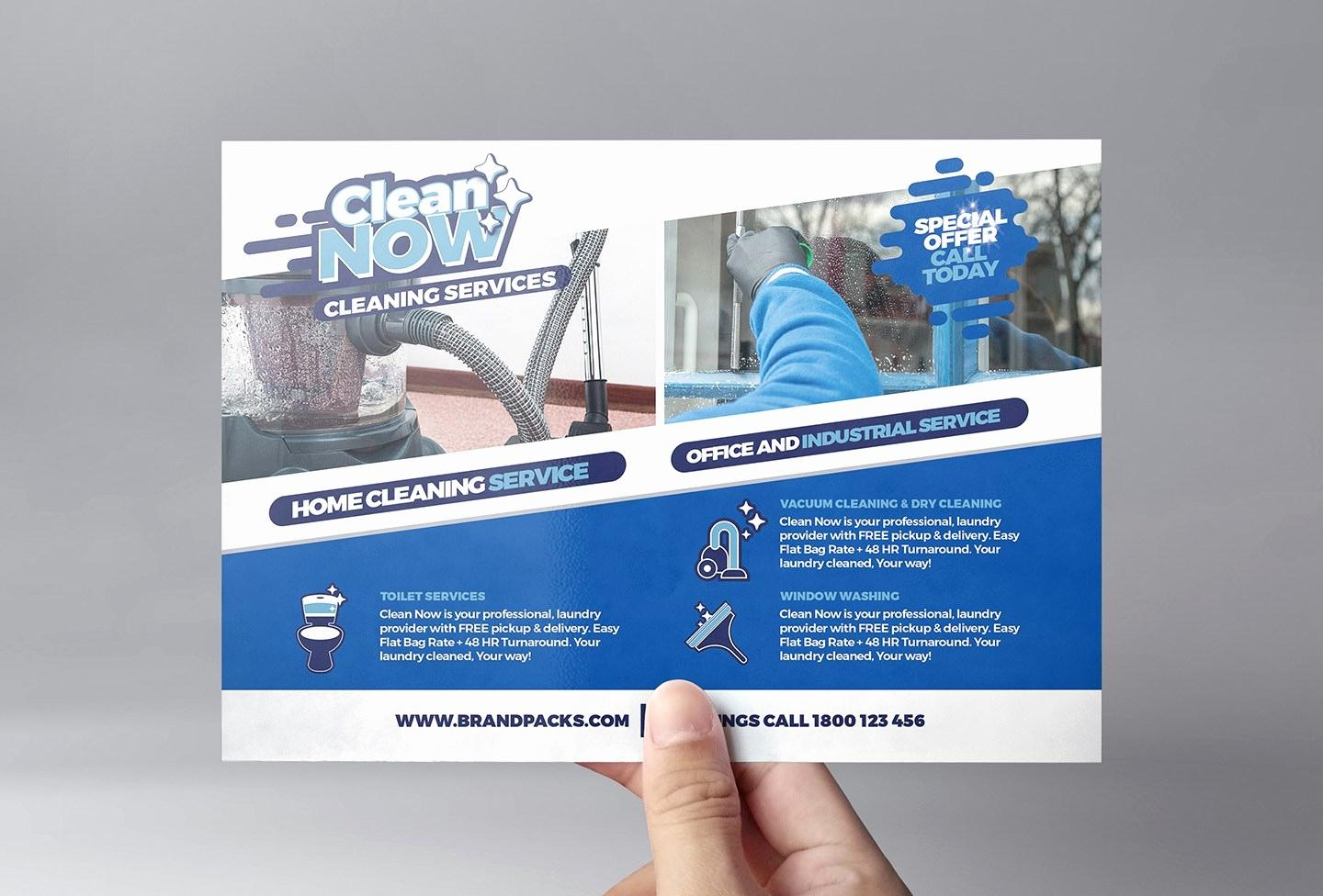 Dry Cleaning Flyers Templates