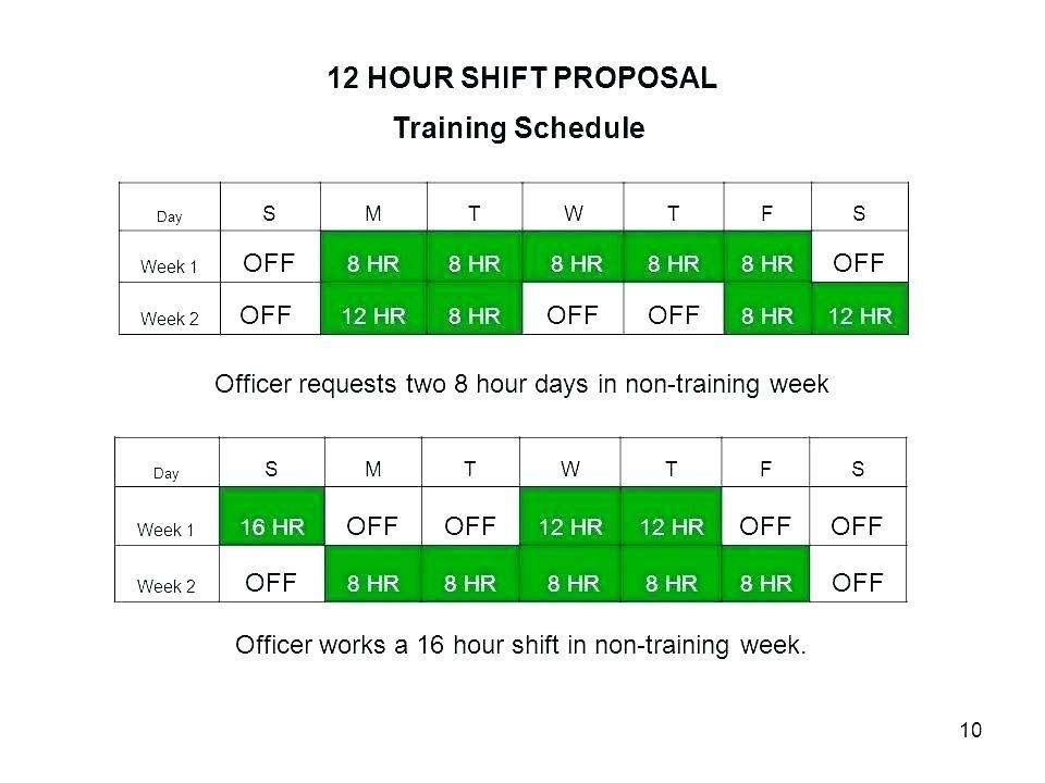 Dupont 12 Hour Rotating Shift Schedule Examples