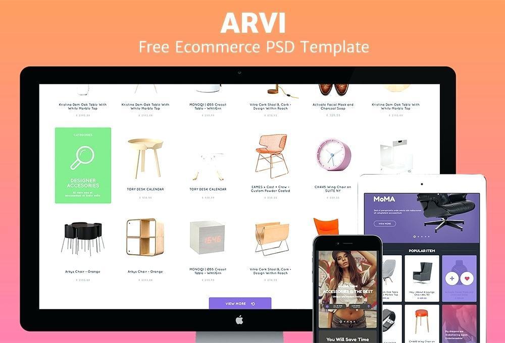 E Commerce Websites Templates Free Psd
