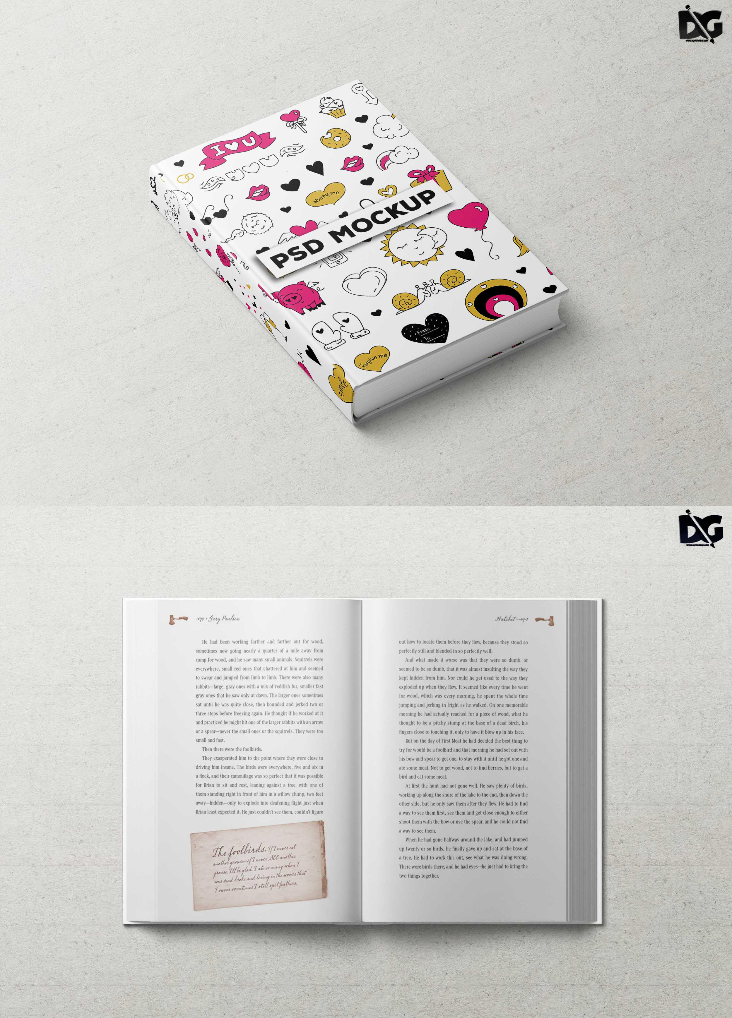 Ebook Cover Psd Free Download