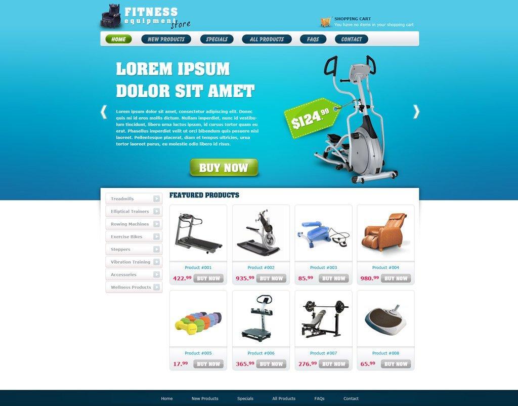 Ecommerce Websites Templates