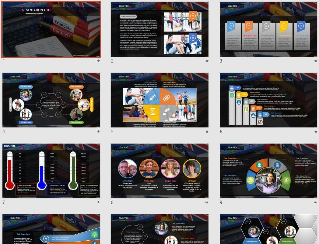 Elearning Powerpoint Templates