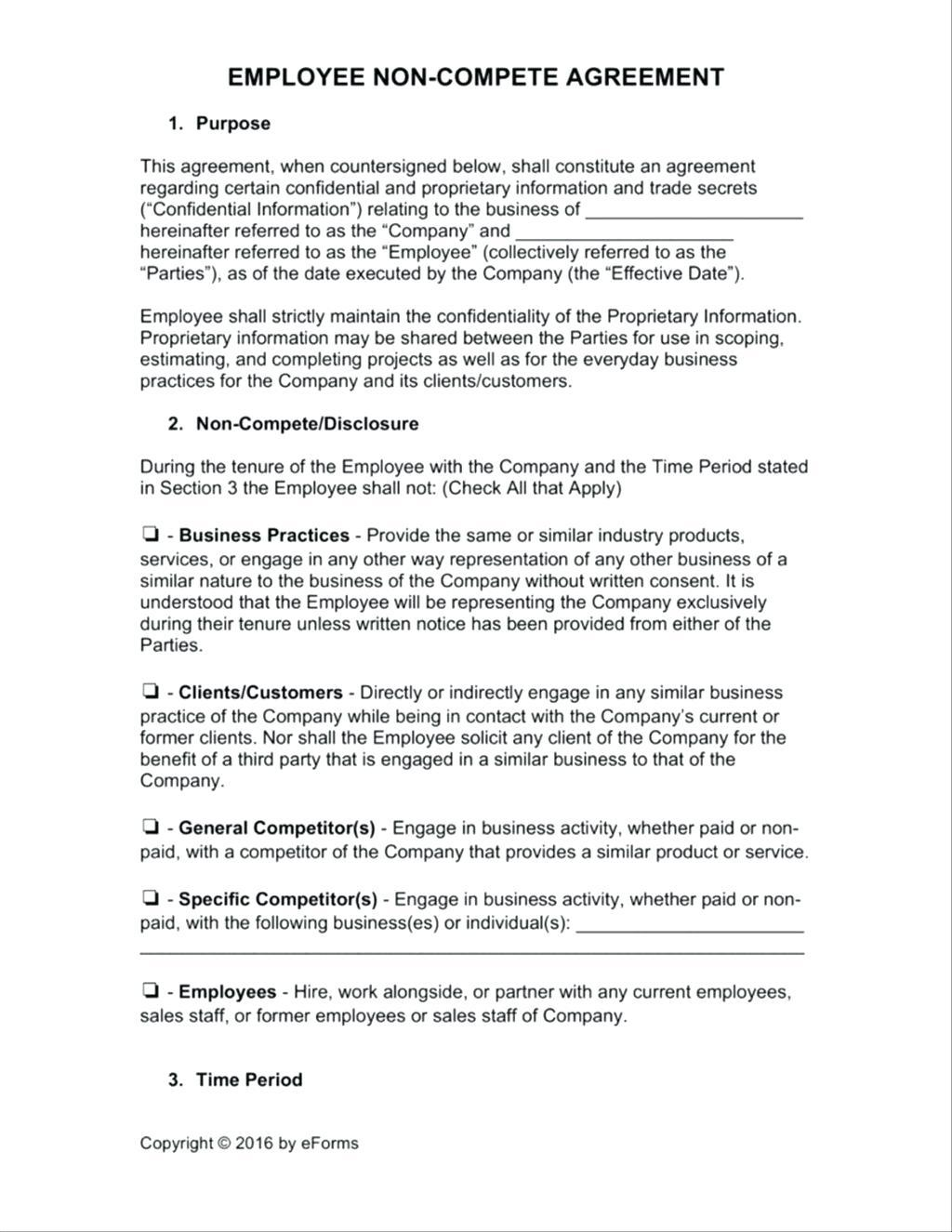 Employee Contracts Template