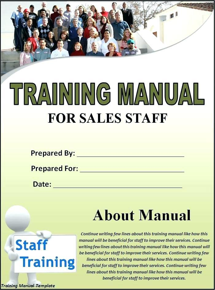 Employee Handbook Cover Page Template