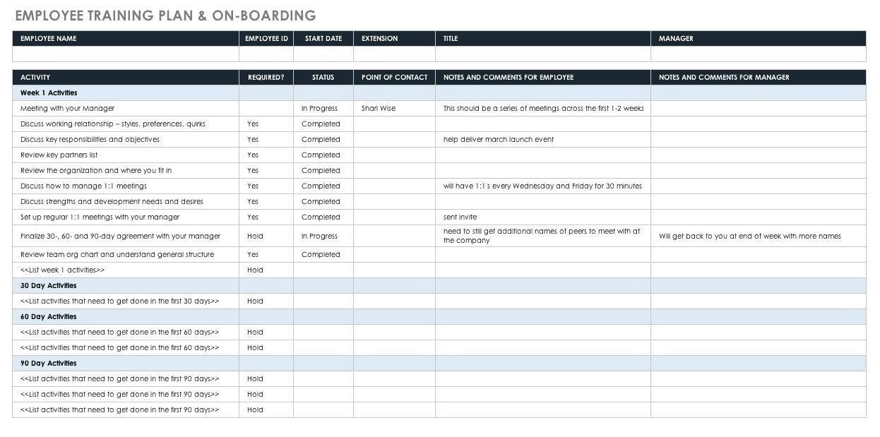 Employee Onboarding Documents