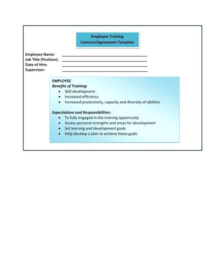 Employee Training Manual Format