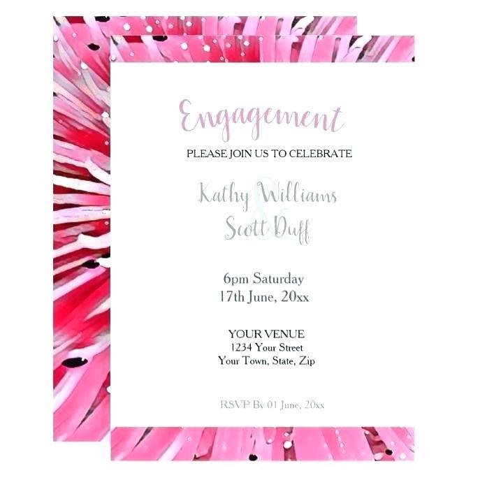 Engagement Invitation Templates Photoshop