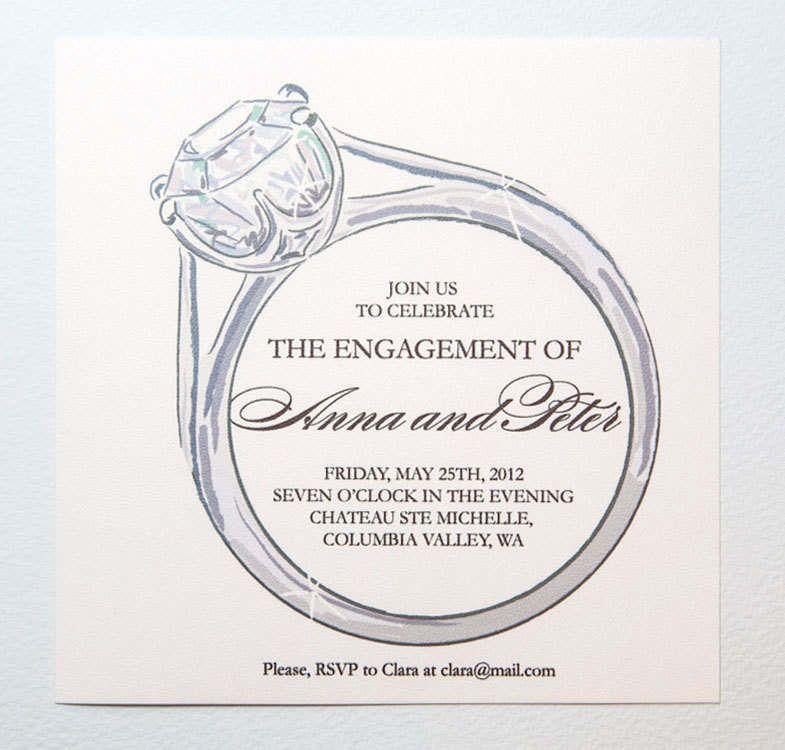 Engagement Templates & Invitation Wordings
