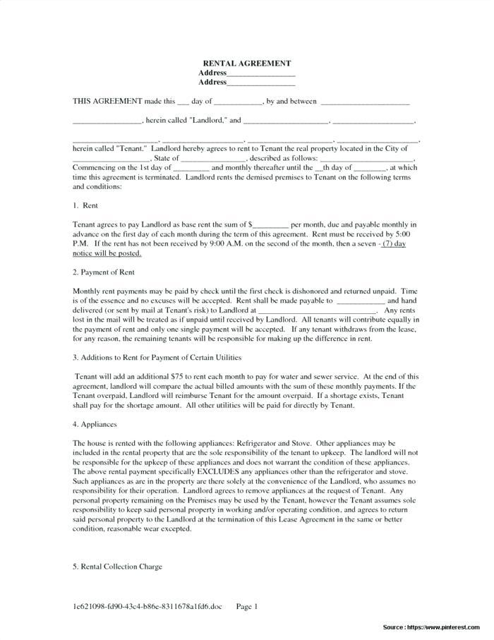 Equipment Operating Lease Agreement Template