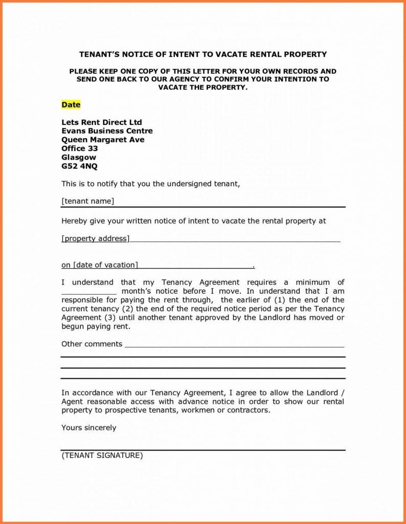 Eviction Letter From Parents Template Uk