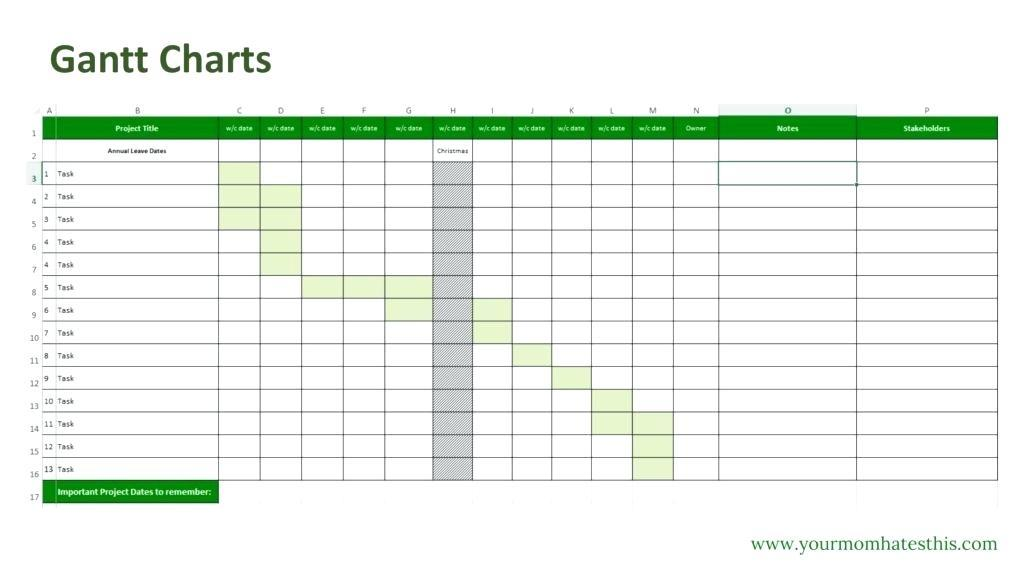 Excel Chart Template Dashboard