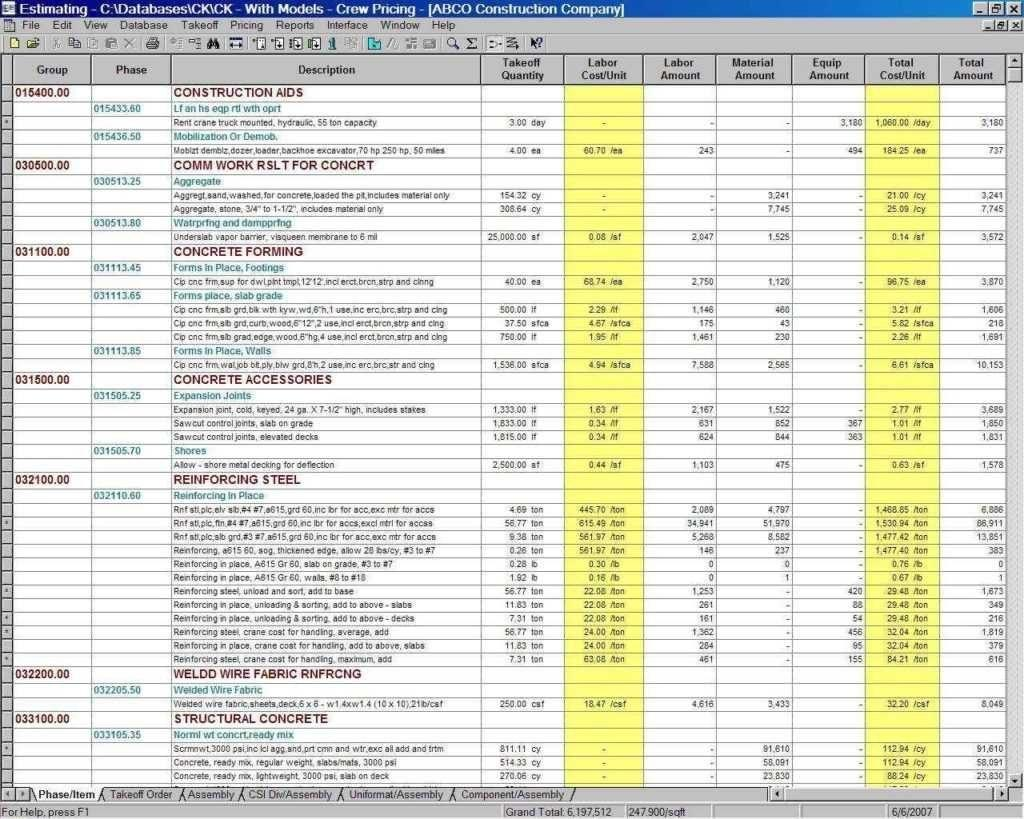 Excel Cost Tracking Spreadsheet Template