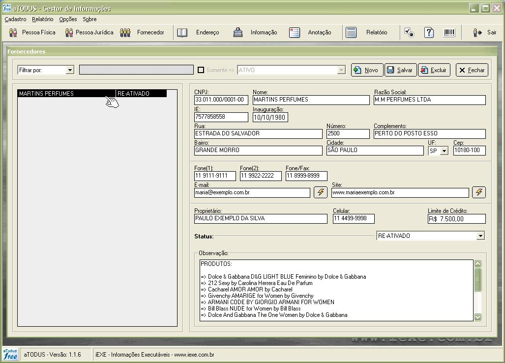 Excel Customer Database Template Free
