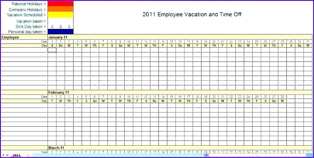 Excel Monthly Planner Template