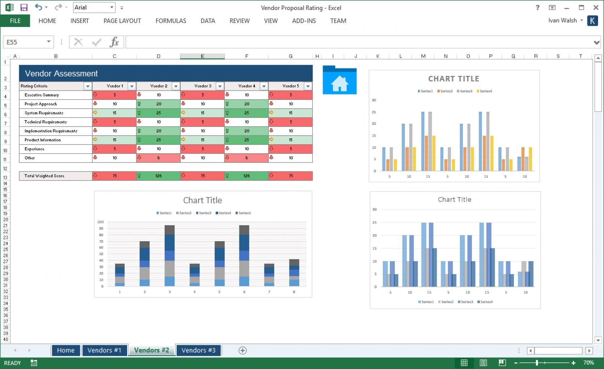 Excel Request For Proposal Template
