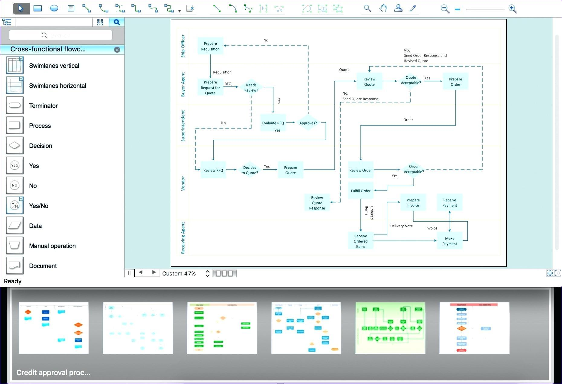 Excel Template For Process Mapping