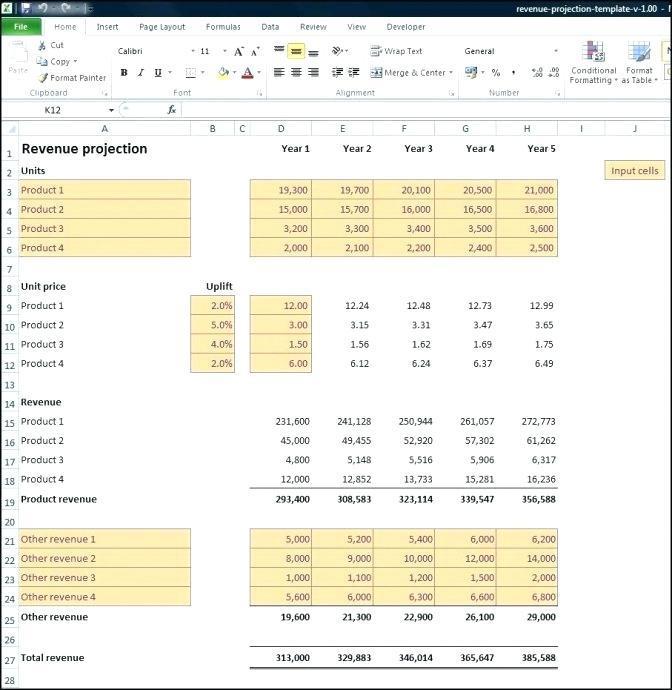 Expenses Balance Sheet Template