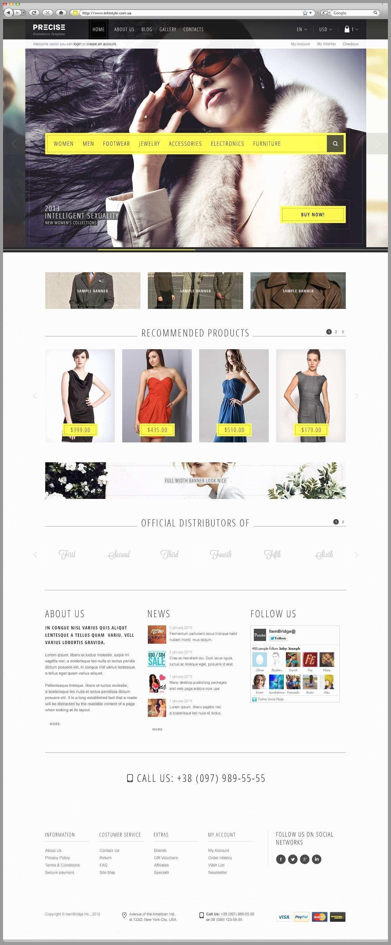 Expression Web Responsive Templates