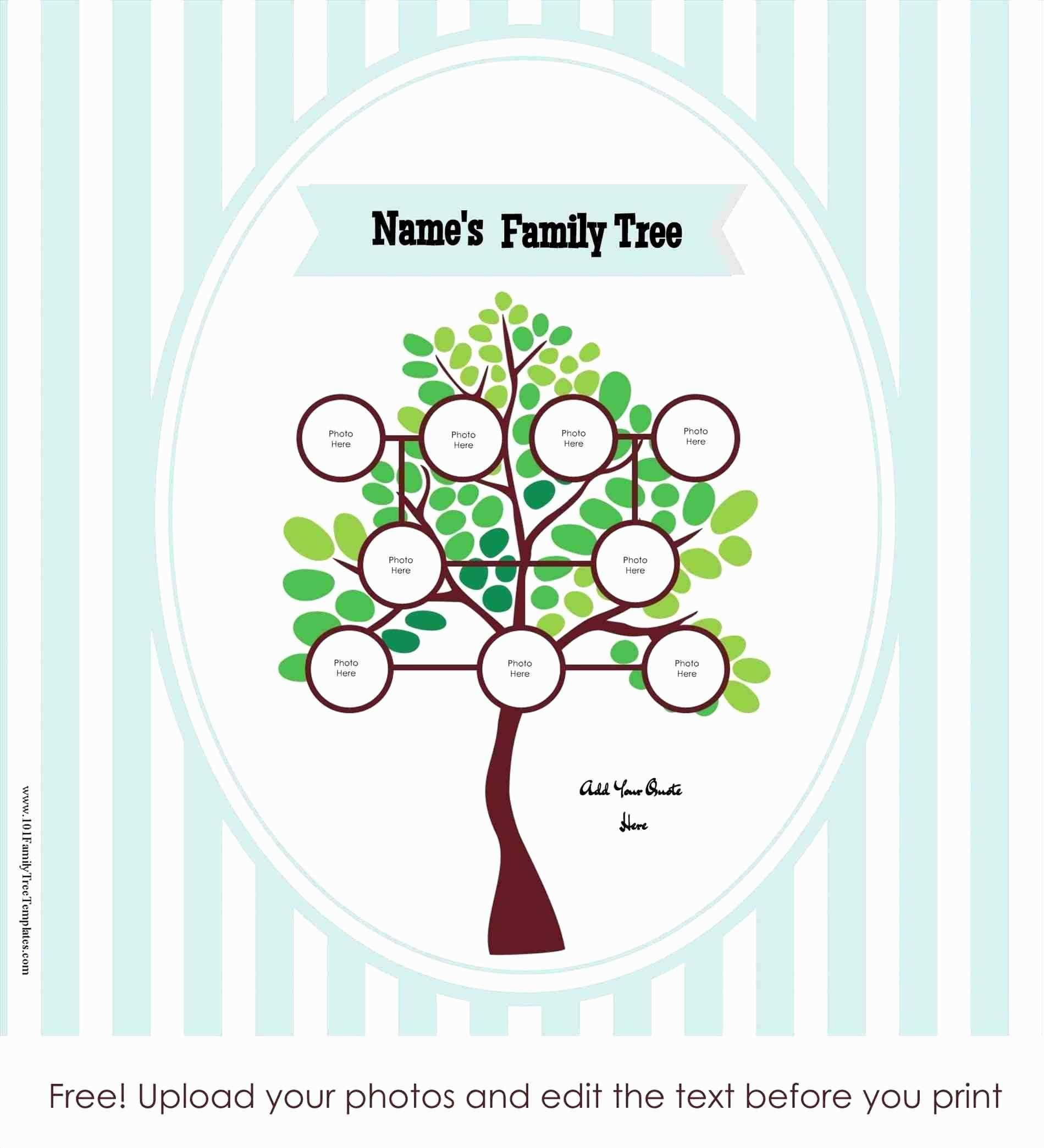 Family Tree Template Maker Online
