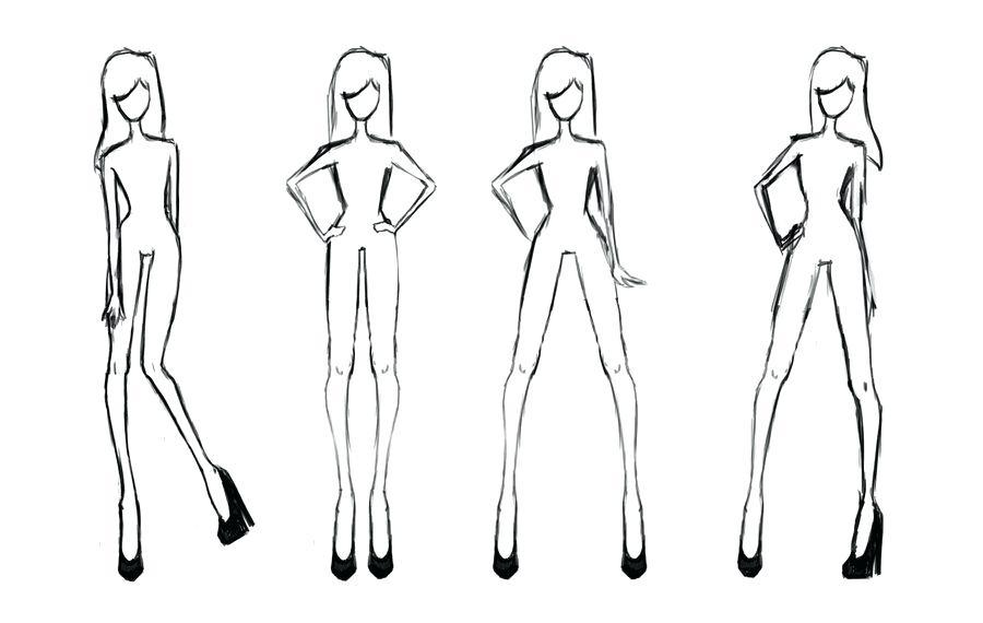 Fashion Design Templates Free Printable