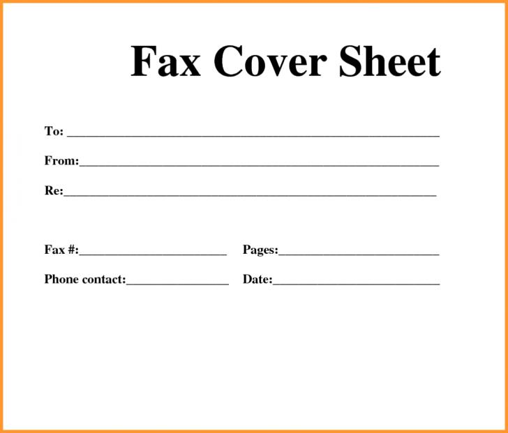 Fax Cover Letter Templates Free Download
