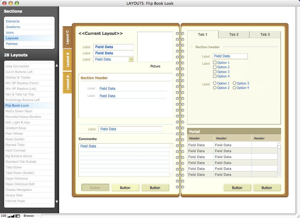 Filemaker Pro 12 Database Templates