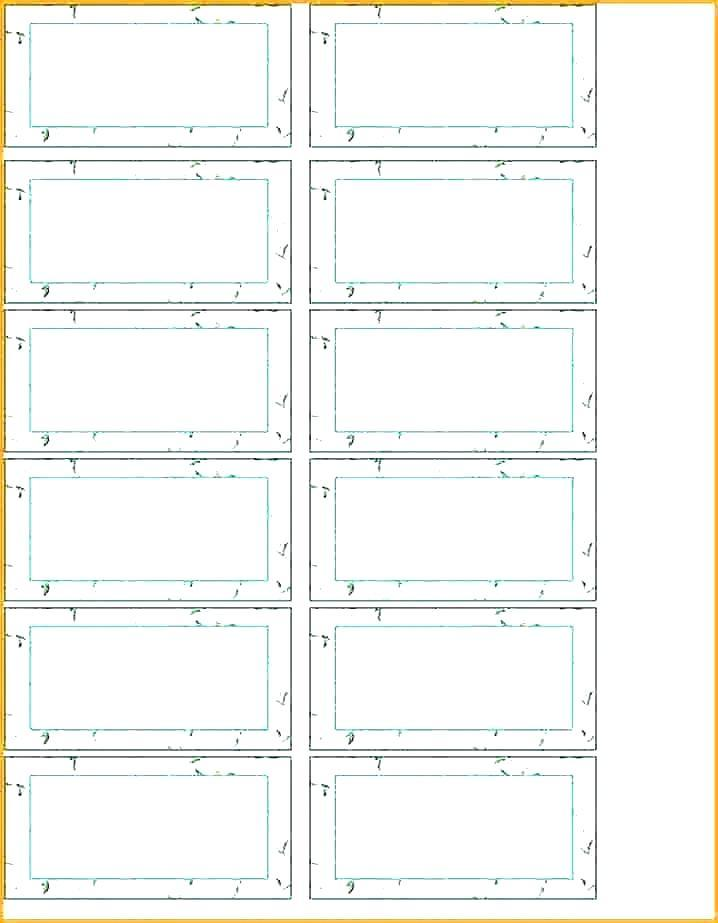 Filing Folder Labels Template
