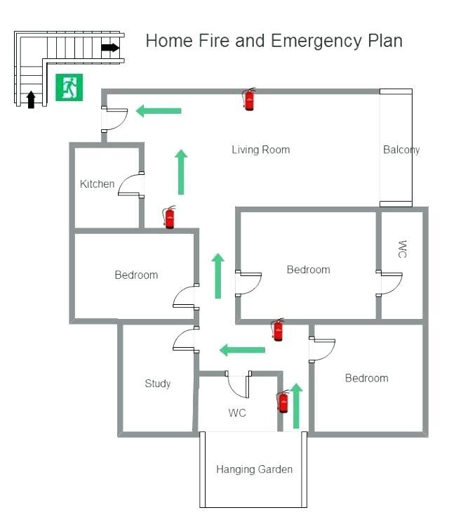 Fire Evacuation Plan Template For Childminders