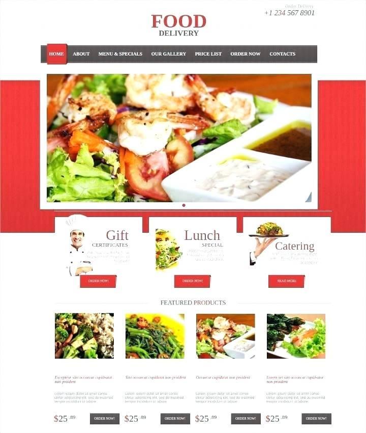 Food Websites Templates Free Download
