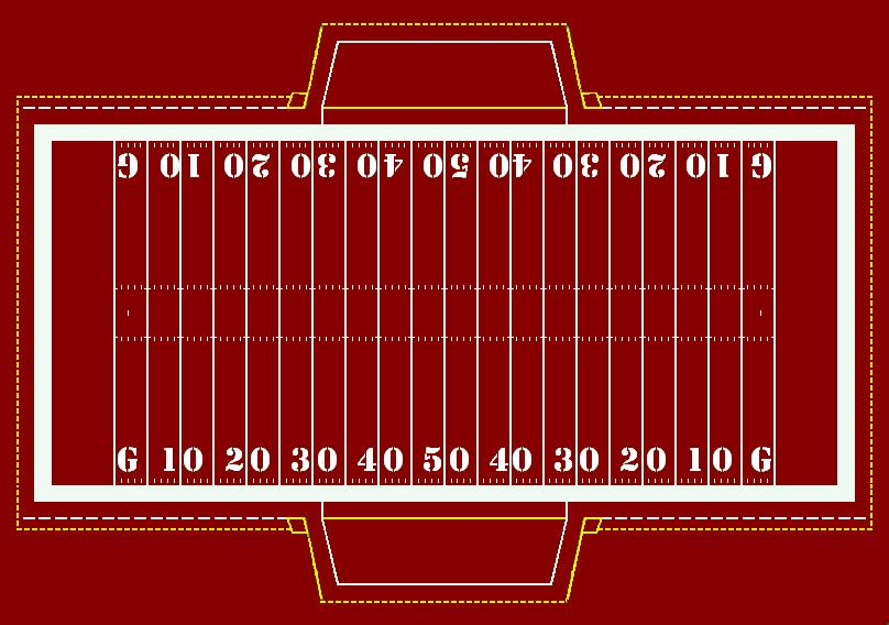 Football Field Paint Templates