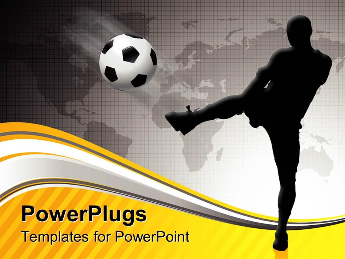 Football Pitch Template Powerpoint